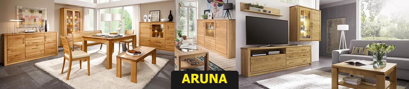 ARUNA Wohn- und Esszimmermöbel aus Massivholz