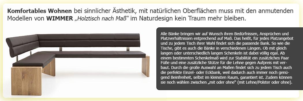Wunschbank Holztisch nach Maß