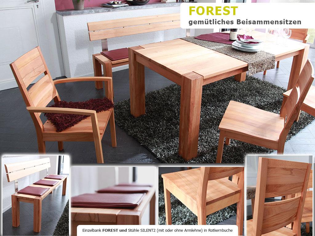 Holztisch Esszimmertisch Massivholz Tischgruppe