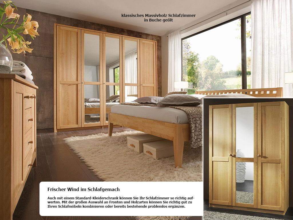klassisches Massivholz Schlafzimmer Buche