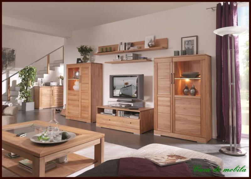 massivholz highboard vitrinen schrank esszimmer holz kernbuche massiv ge lt ebay. Black Bedroom Furniture Sets. Home Design Ideas
