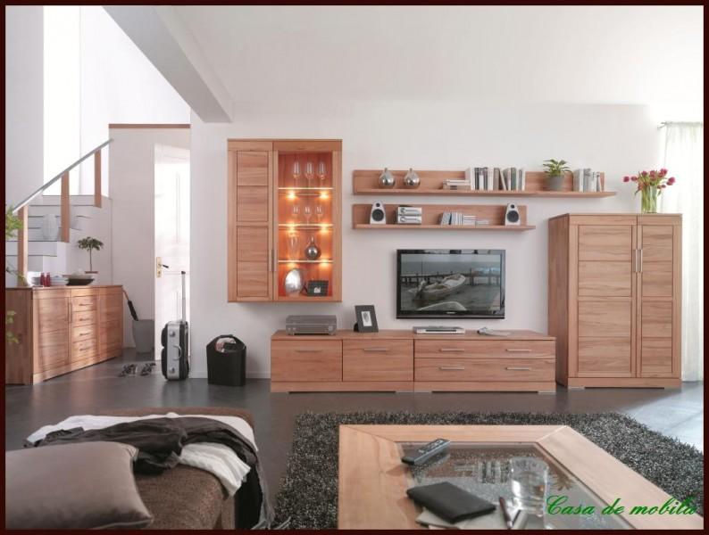 massivholz h ngevitrine kernbuche ge lt h ngeschrank vitrine holz buche massiv ebay. Black Bedroom Furniture Sets. Home Design Ideas