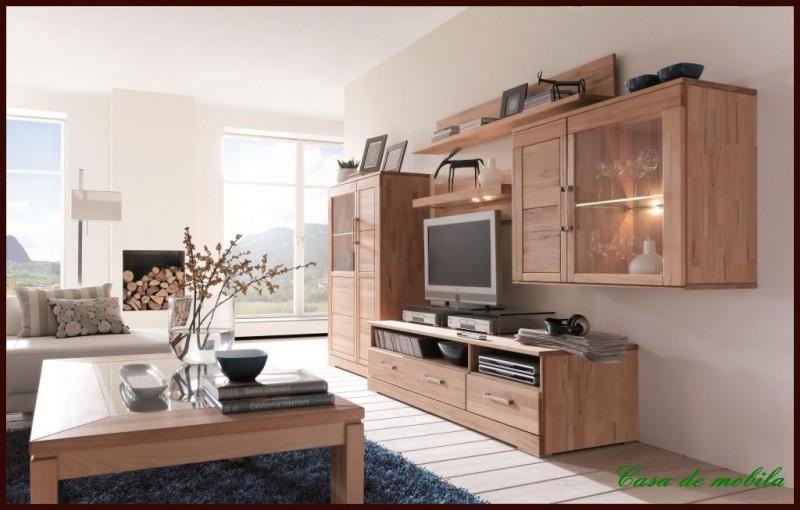 h ngevitrine h ngeschrank holz kernbuche buche massiv ebay. Black Bedroom Furniture Sets. Home Design Ideas