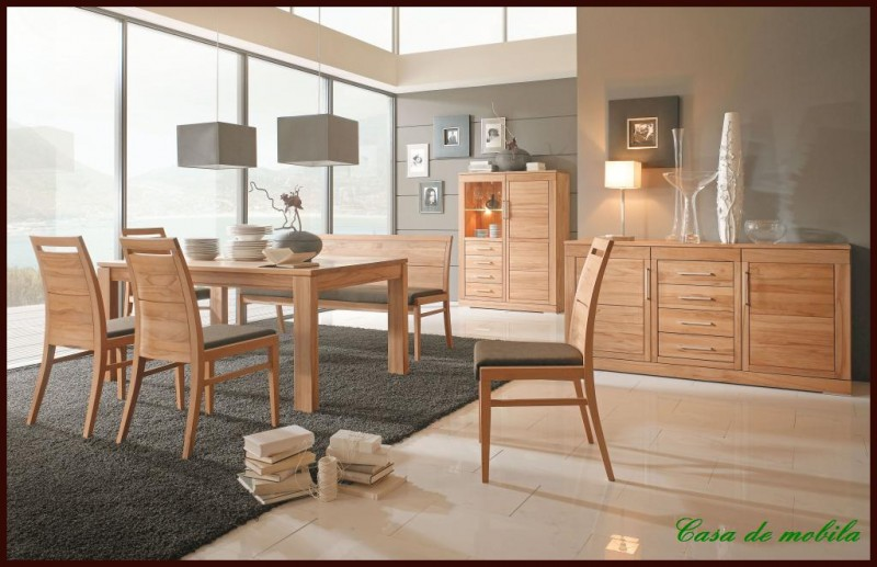 esszimmer sitzbank mit lehne polster bank r ckenlehne massiv holz kernbuche l ebay. Black Bedroom Furniture Sets. Home Design Ideas