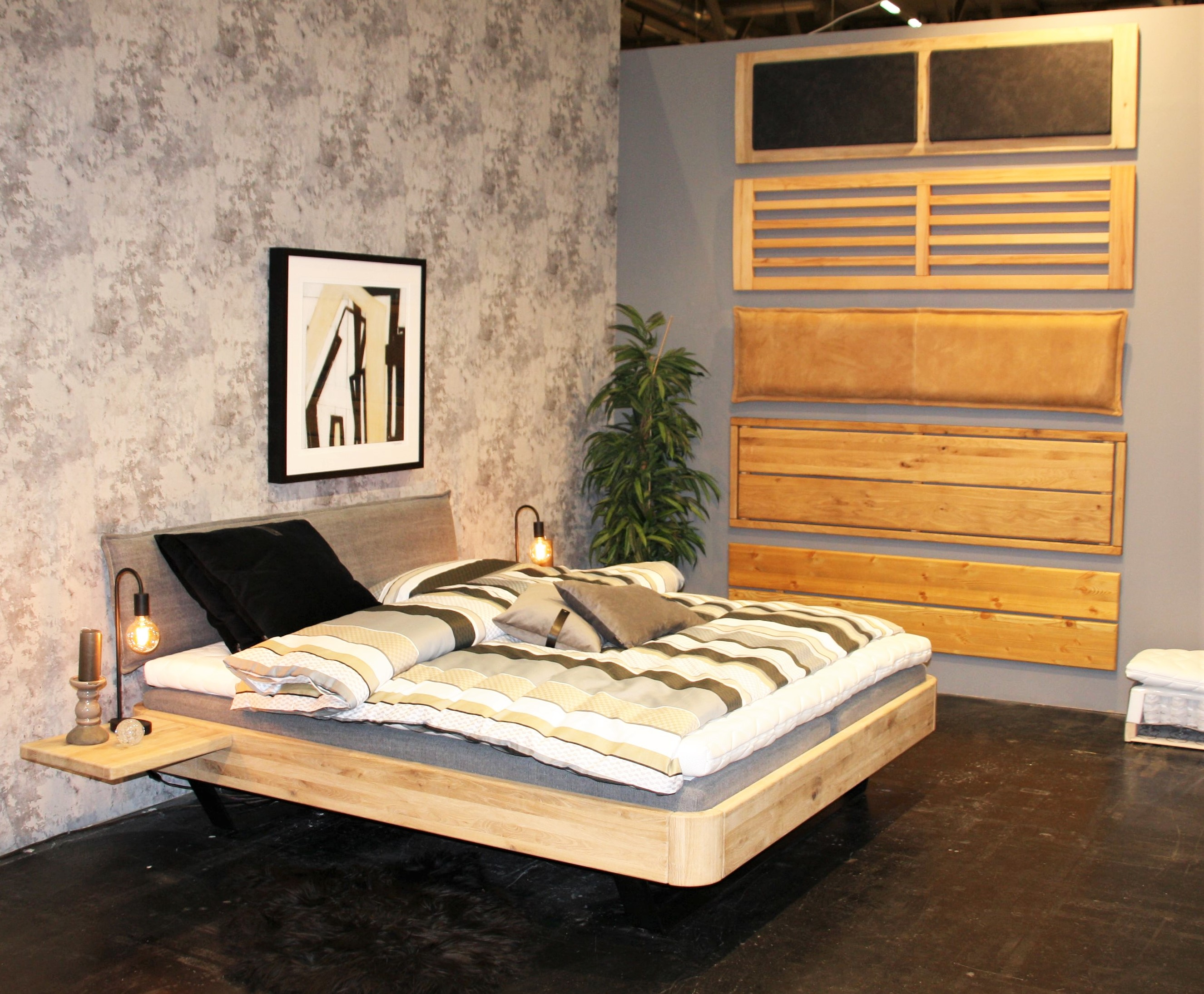 Massivholz Kufenebett aus Kiefer Easy Sleep