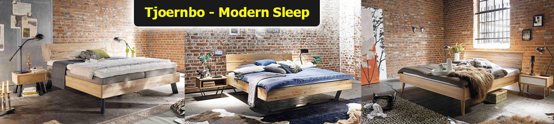 Massivholz Designerbett Wildeiche Modern Sleep