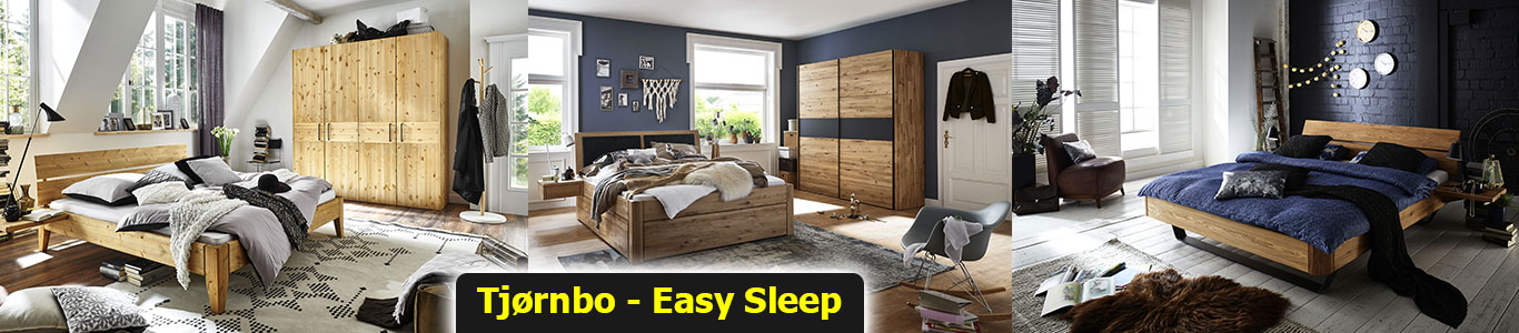 Bed from solid wood