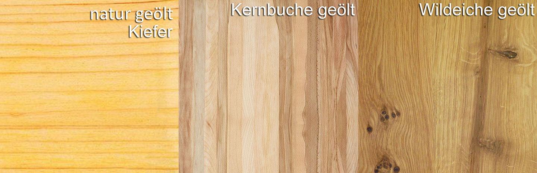 Holzarten Iversen CONTRA
