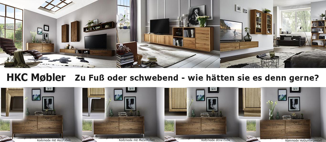 HKC Kommoden Vergleich Möbelfüße