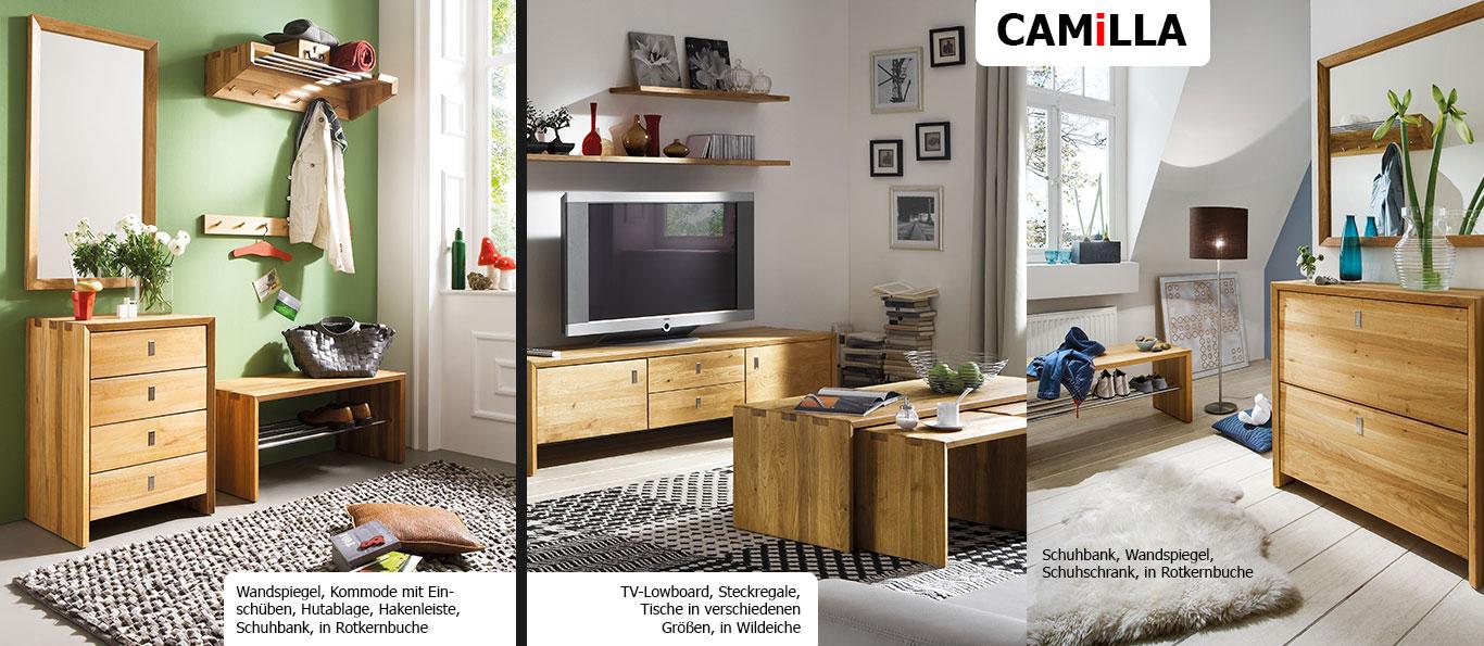 Massivholzmöbelserie Camilla von HKC