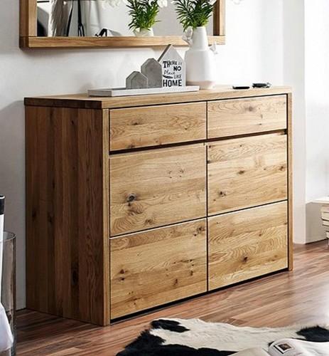 massivholz schminktisch eiche buche ge lt kosmetiktisch mit spiegel frisiertisch. Black Bedroom Furniture Sets. Home Design Ideas
