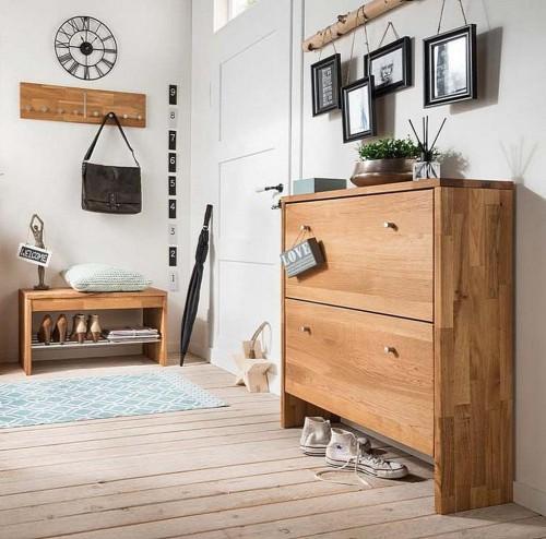 Garderoben sets for Schuhschrank echtholz
