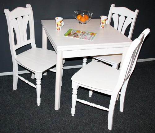 esstisch ausziehbar 140x80 massivholz konsolentisch. Black Bedroom Furniture Sets. Home Design Ideas