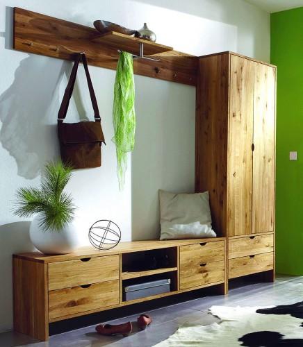 Massivholz standleiter 5 stufen standregal leiterregal for Vollholz garderobe