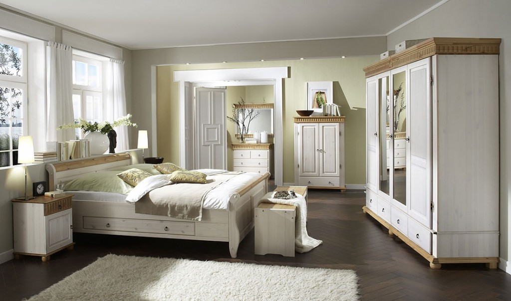 bett mit schubladen 100x200 wei antik holzbett kiefer. Black Bedroom Furniture Sets. Home Design Ideas
