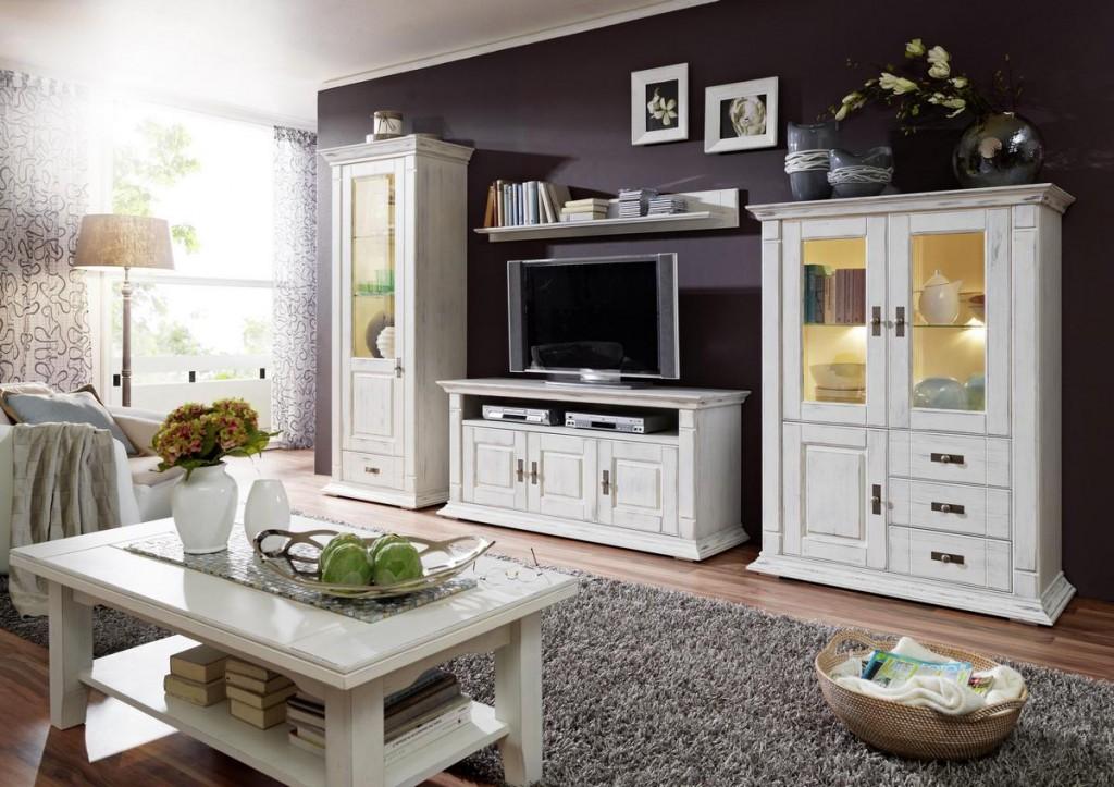 wohnzimmer weis shabby. Black Bedroom Furniture Sets. Home Design Ideas